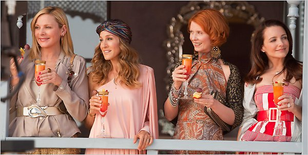 Sex & The City Stars in Morocco Kim Cattrall, Sarah Jessica Parker, ...