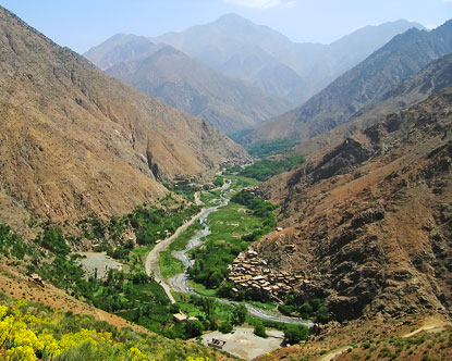 paradise valley morocco how to get there