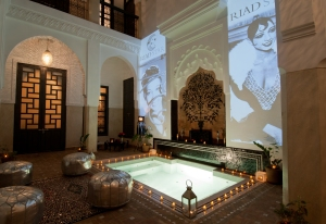 Riad Star, Marrakech - Patio with Dipping Pool