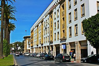 Avenue Hassan II Rabat