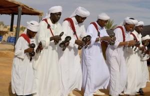 Khemlia Musicians, Merzouga Sahara Desert