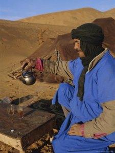Morocco Tea Ceremony, Sahara Desert