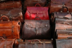 Leather Suitcases, Travel Morocco